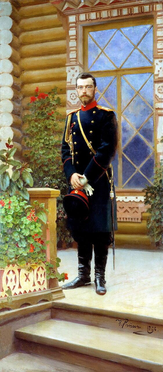 Илья Ефимович Репин (1844–1930). Портрет императора Николая II, 1896