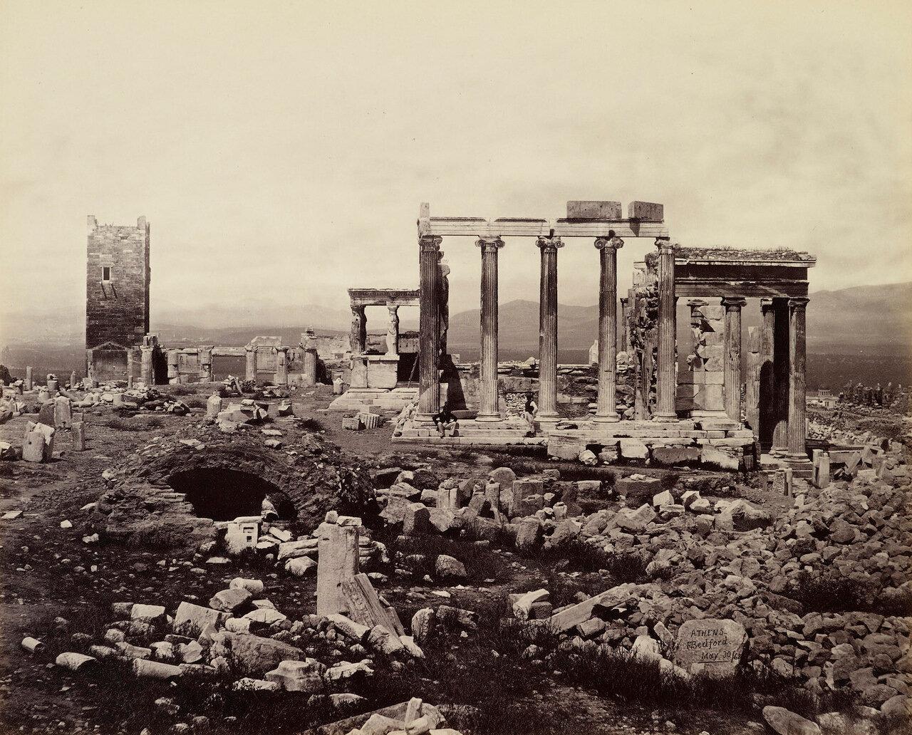 30 мая 1862. Эрехтейон с Востока.Афины