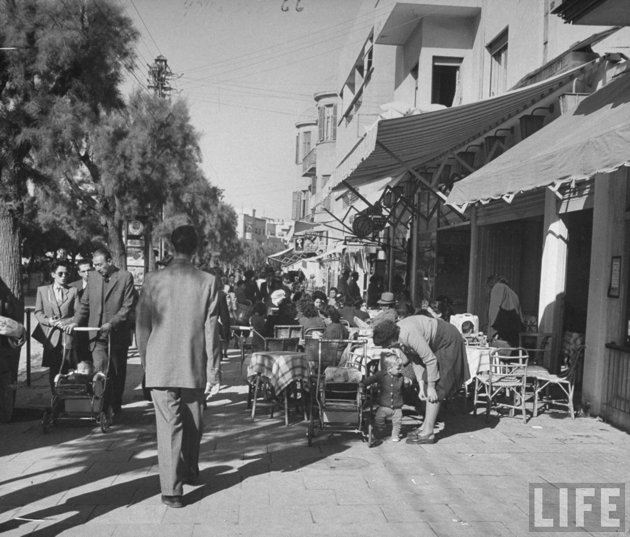 1948. Тель-Авив, улица Алленби