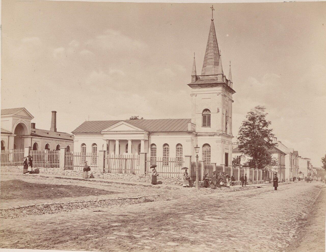 Лютеранская кирха в Кельце
