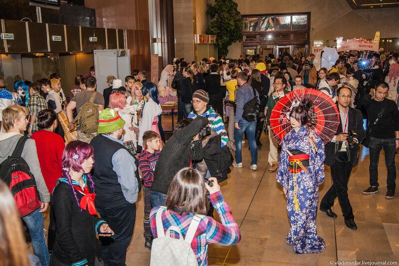 Фестиваль современной японской культуры. 23 ноября 2013 года.