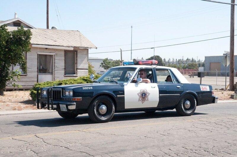 San Jose 1988 Dodge Diplomat Code 3 Parade Near Side
