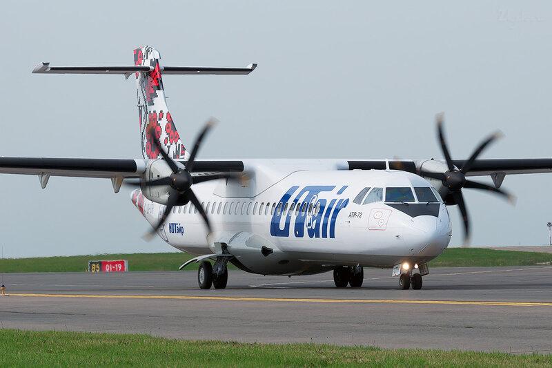 ATR-72-212A (UR-UTH) ЮТэйр Украина DSC1891