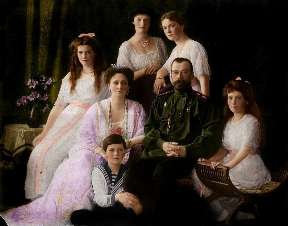 Оказывается, царская семья