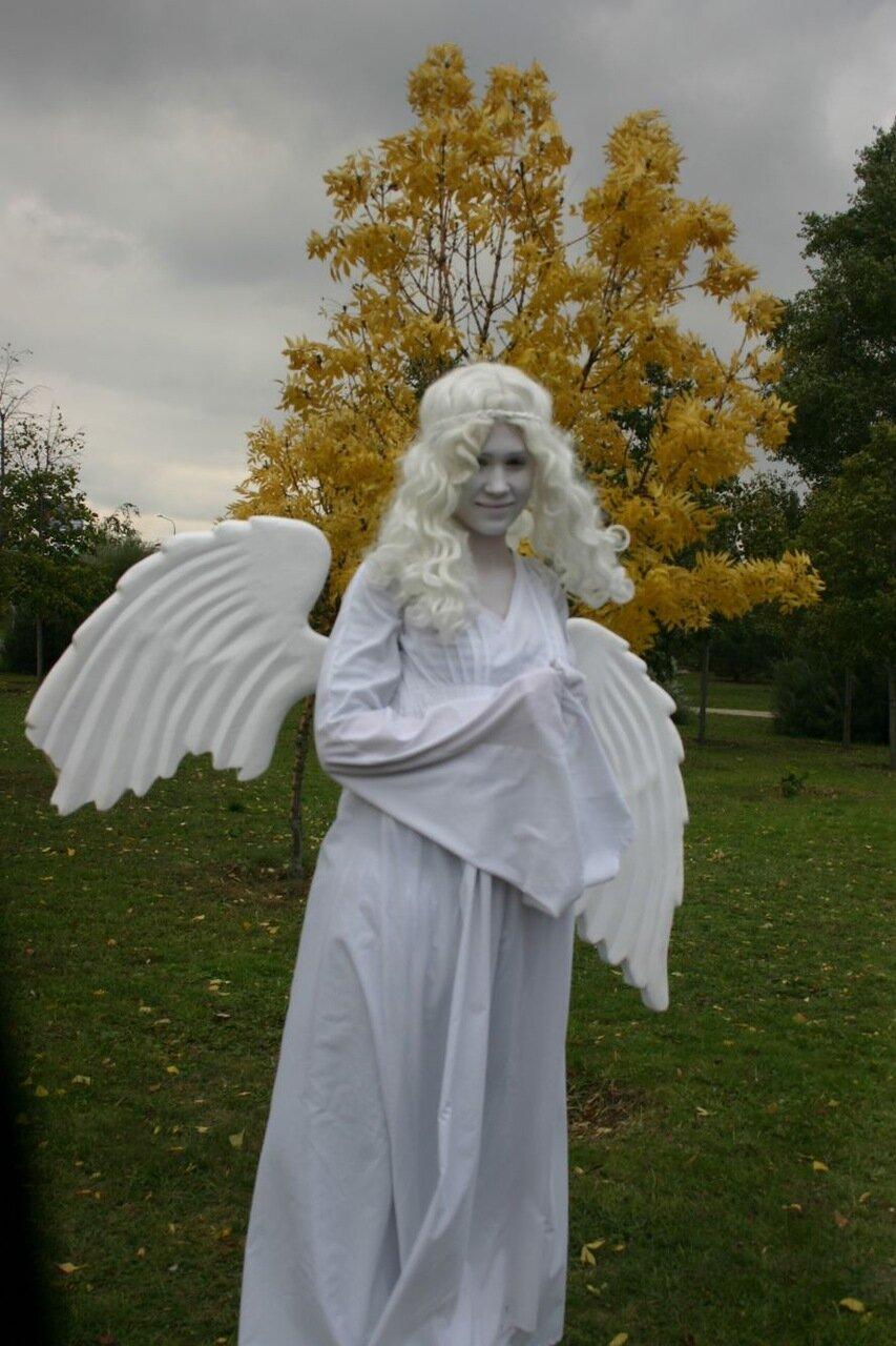 ФОТОРЕПОРТАЖ: В День города мэру вручили большой ключ, а запорожцев развлекали живые статуи, фото-2
