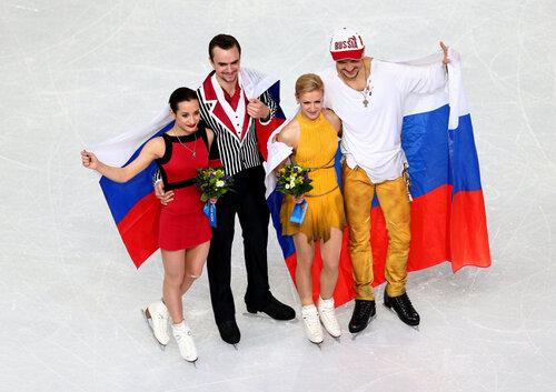 Серебрянные и золотые медалисты Олимпиады 2014!