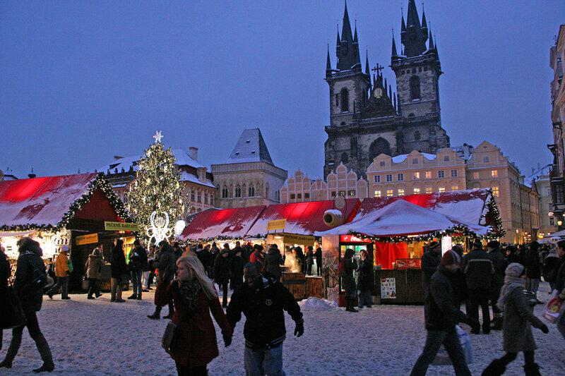 Прага в январе отзывы
