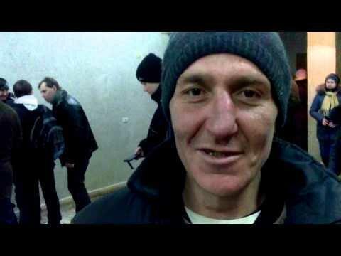 Электорат Януковича в Запорожье: раздевалка облсовета 31.01.14 (видео)