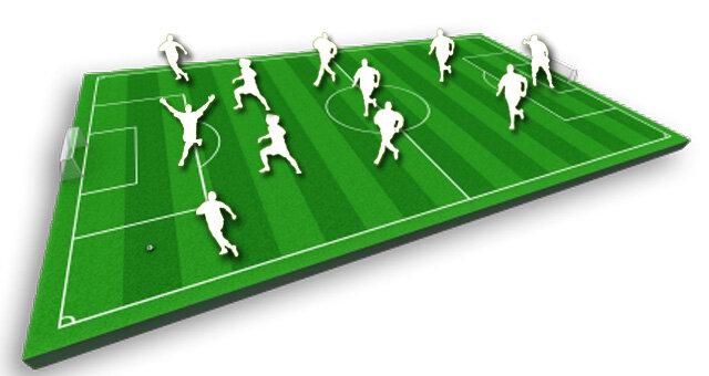 самого начала футбола.