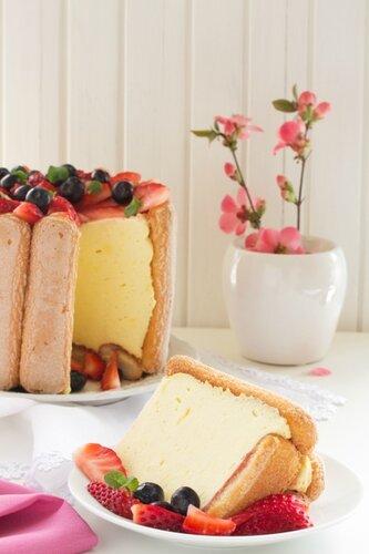 Summer dessert - Charlotte.