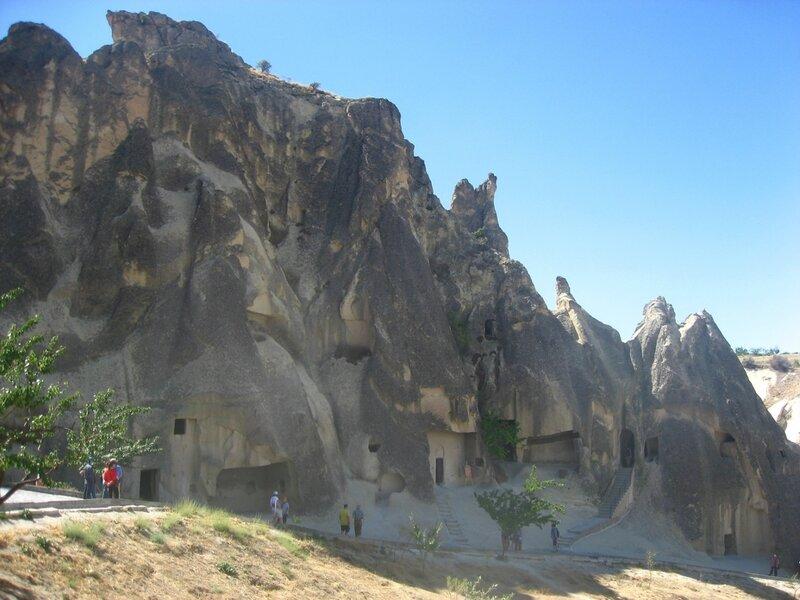 Каппадокия: Музей под открытым небом Гёреме - Храмы, Музей, Горы - turkey, cappadocia