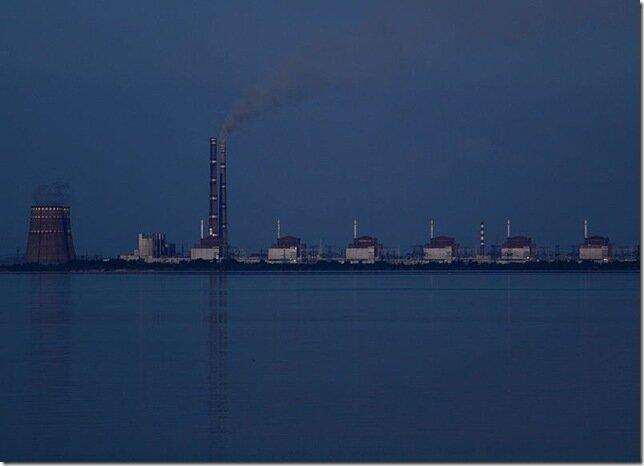 Запорожская АЭС - крупнейшая атомная электростанция Европы