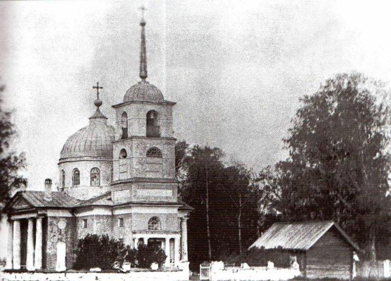 Екатерининская церковь в Ровном