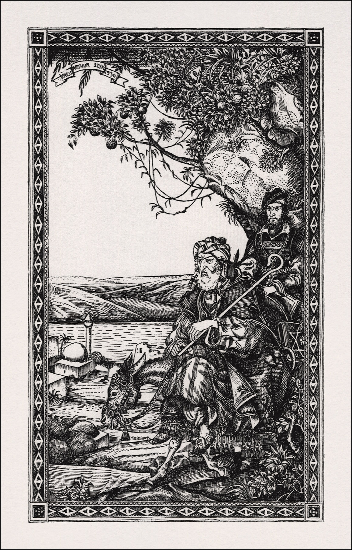 Arthur Szyk, The last days of Shylock