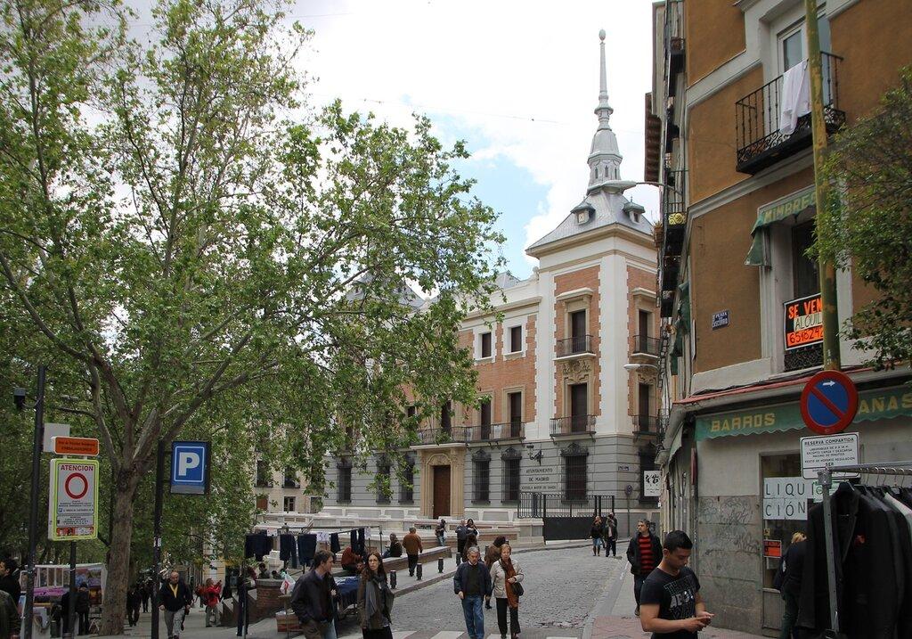 Мадрид. Площадь Каскорро (Plaza Cascorro)