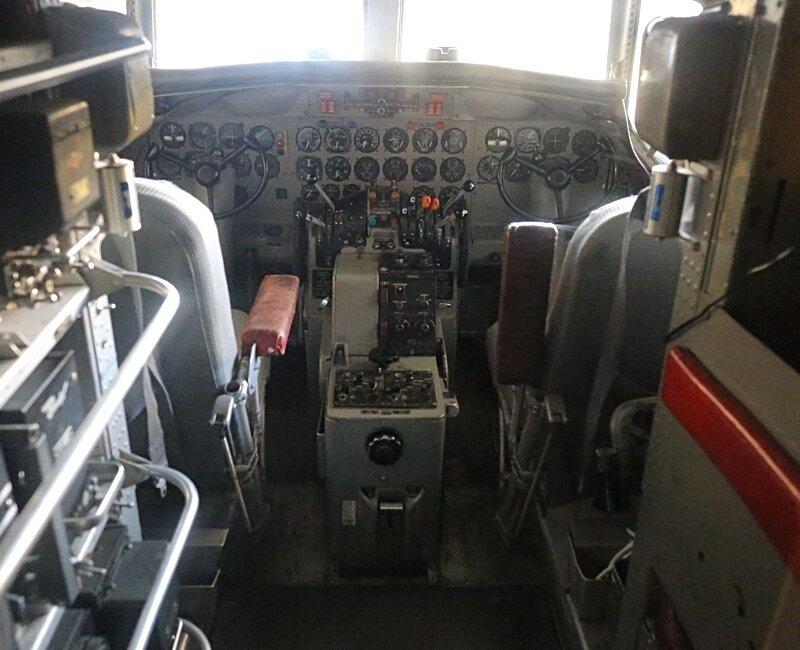 Finnish Aviation Museum.Авиамузей Хельсинки-Вантаа. Зал гражданской авиации. Convair-440