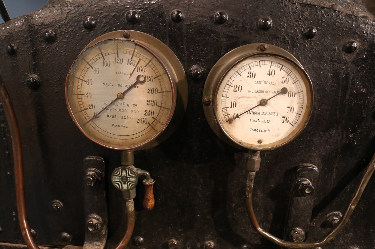 Maritime Museum of Barcelona. steam boiler