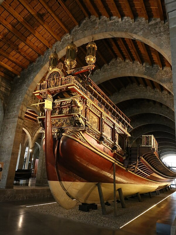Maritime Museum of Barcelona. Galera Real.
