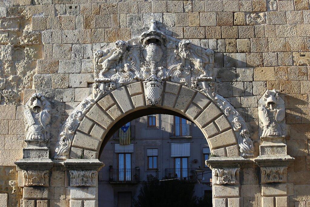 Таррагона. Ворота Сан Антонио. Portal de Sant Antoni. Tarragona