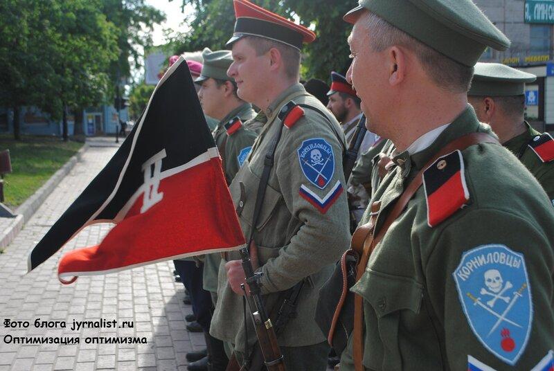 В Луганске повторяется гражданская война 1919 года