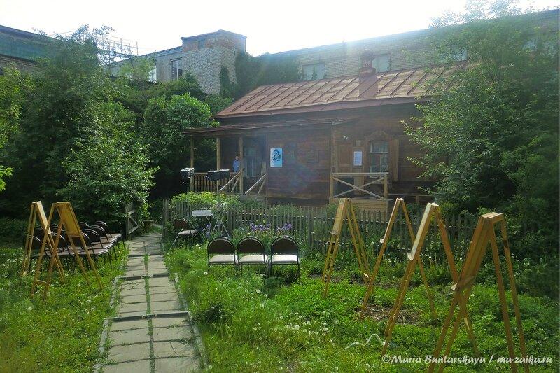 Маленькие этюды большой музейной жизни, Саратов, музей-усадьба Борисова-Мусатова, 18 мая 2013 года