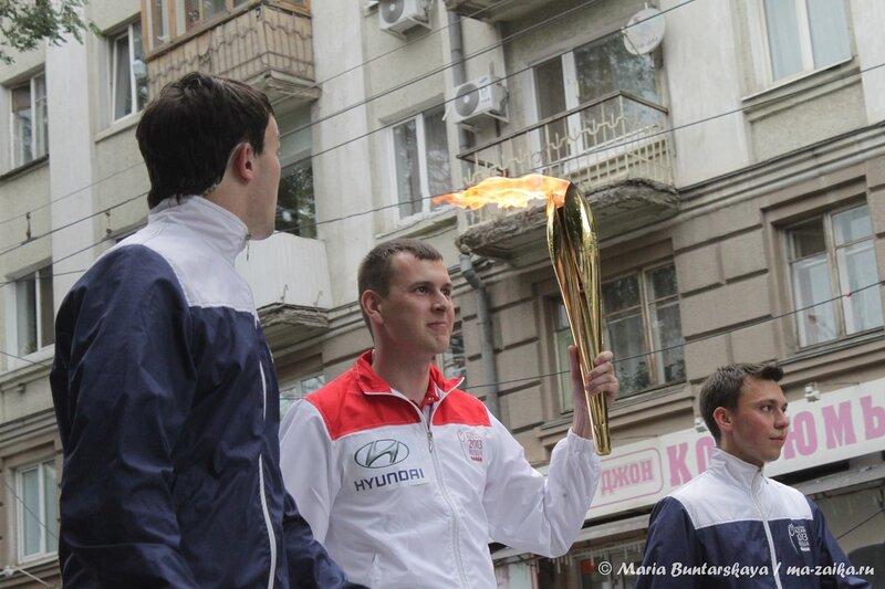 Эстафета Огня Универсиады, Саратов, 14 июня 2013 года