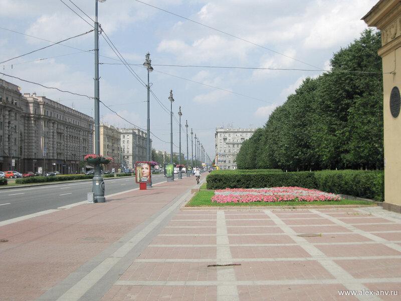 Московский парк Победы. Московский проспект.
