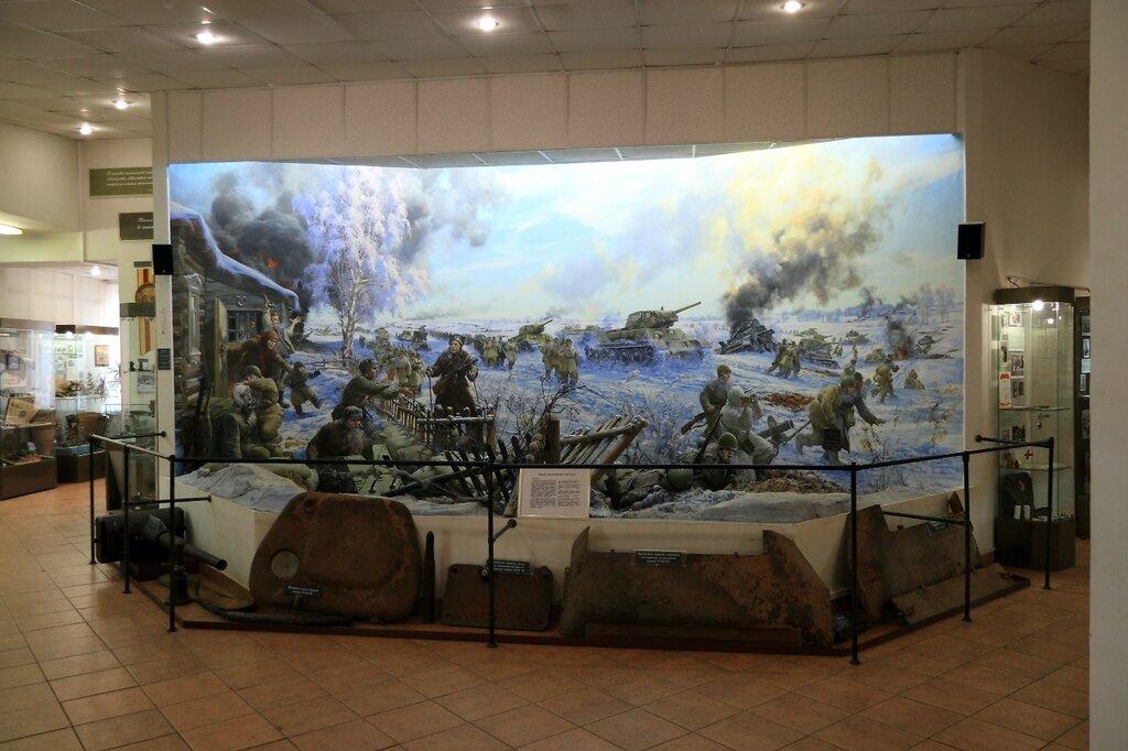 Экспозиция 2-го этажа музея