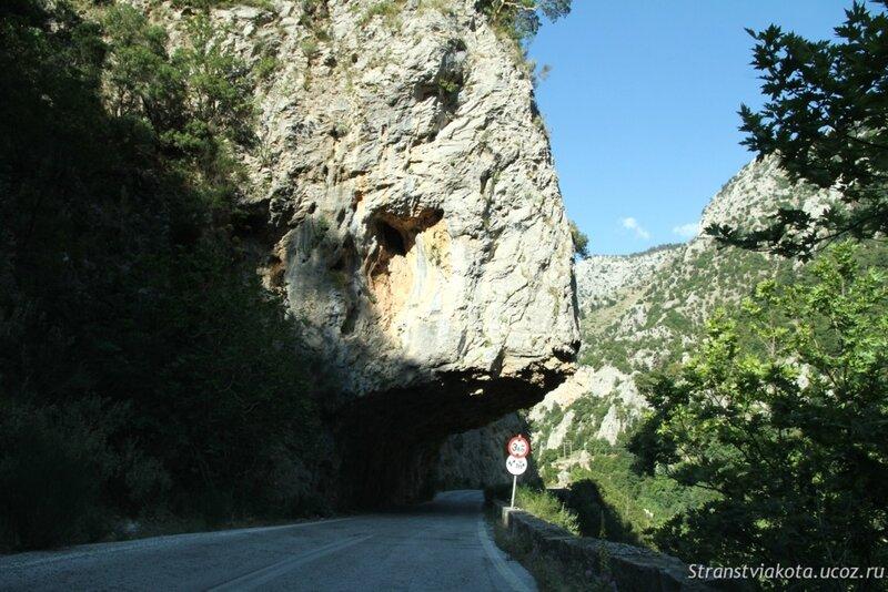 Пелопоннес, перевал через Тайгет