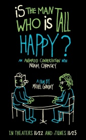 Счастлив ли человек высокого роста? \ Is the Man Who Is Tall Happy?: An Animated Conversation with Noam Chomsky