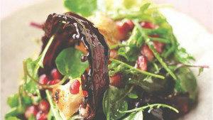 Зеленый салат с