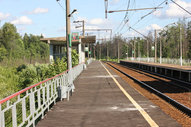 Платформа 91 км