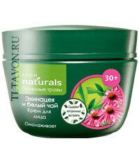 avon naturals крем для лица 30+