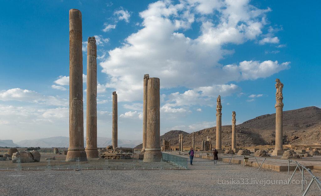 Персеполь, Иран