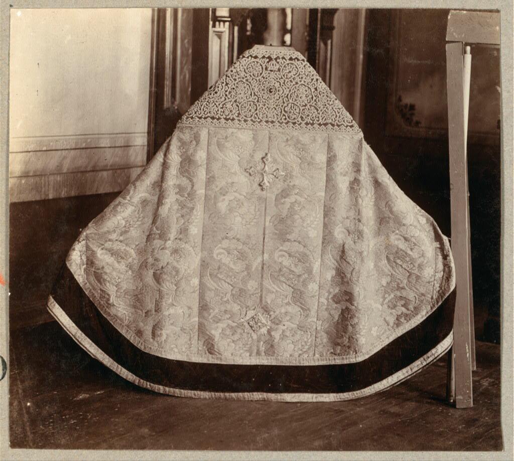 Риза, выполненная в XIX веке