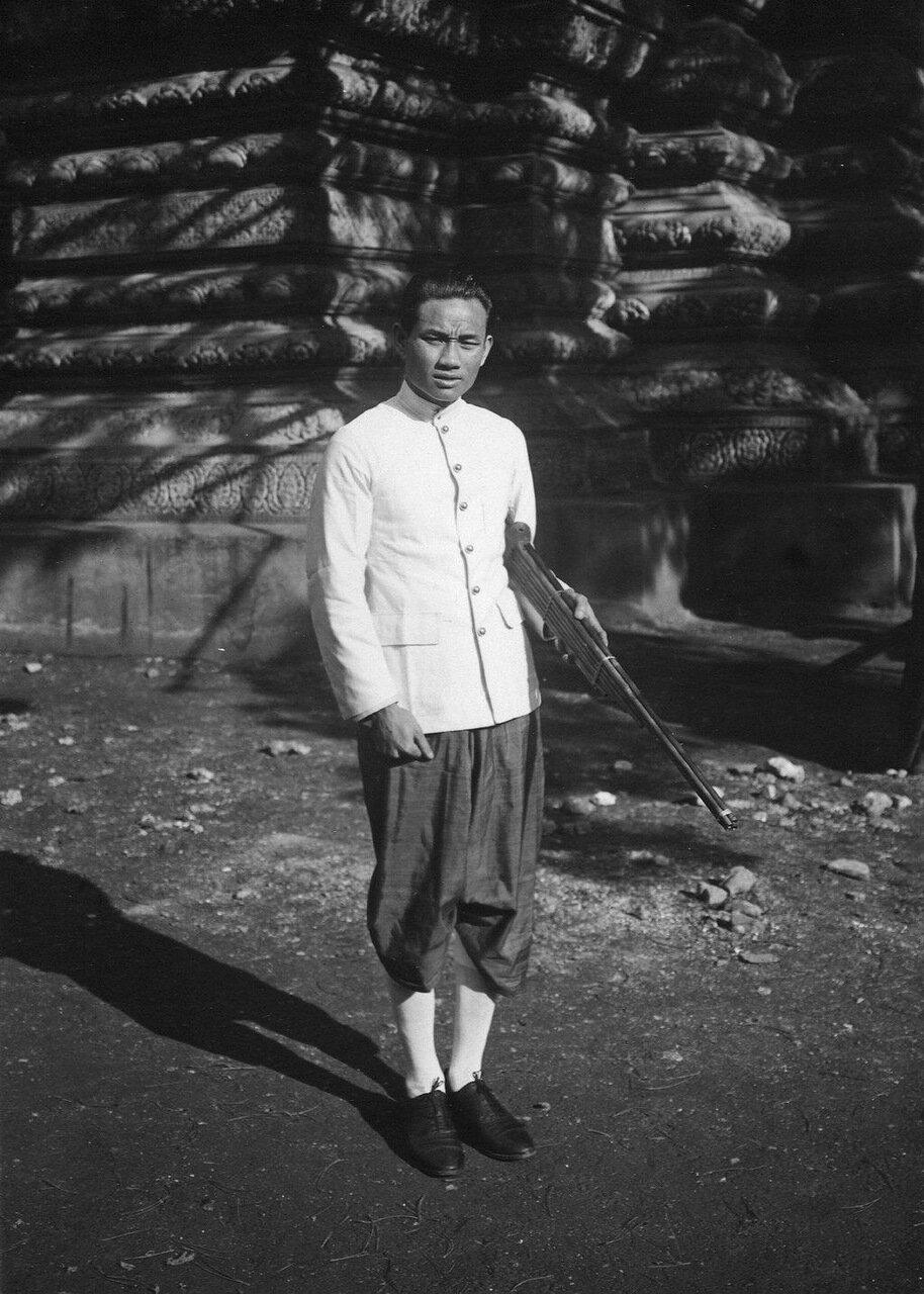 Лаос. Участник хен-оркестра