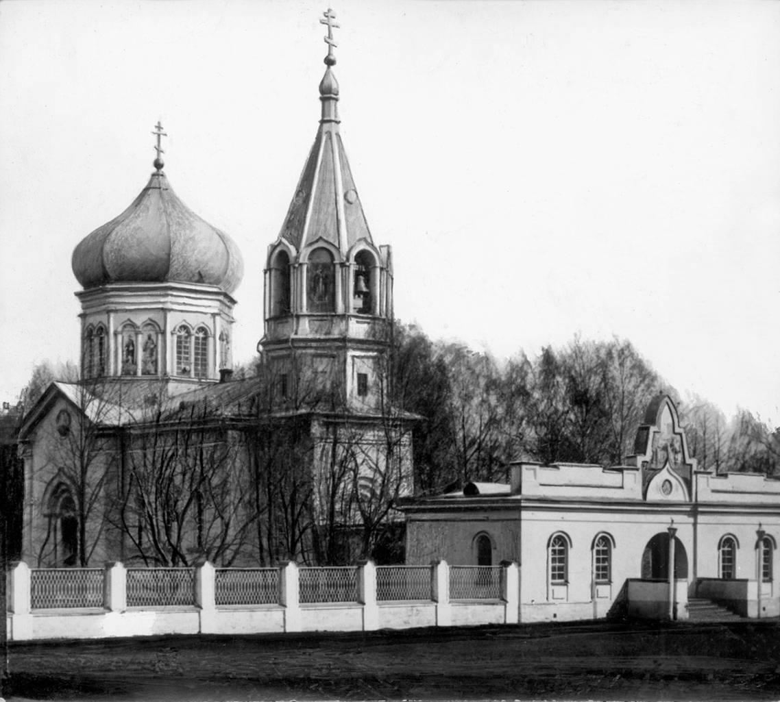 Никольская церковь 1890-е