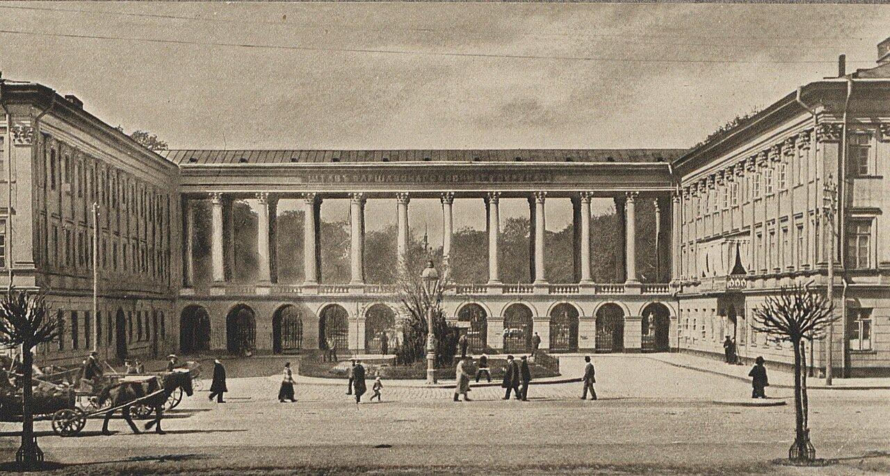 Варшава. Саксонский дворец. Колоннада