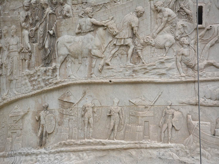 Колонна Траяна, Рим