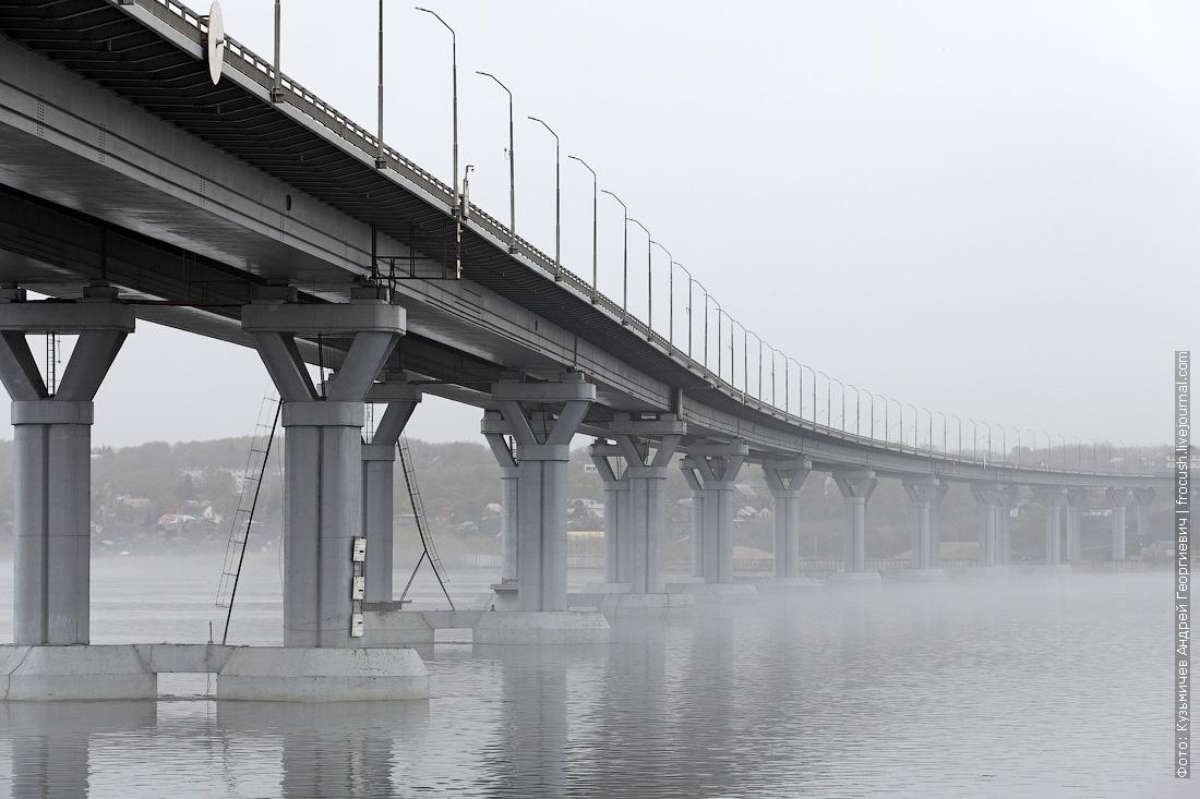 автомобильный мост Пристанное — Шумейка