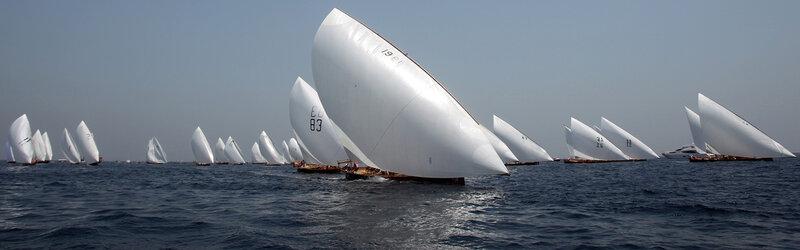 Гонки арабских лодок