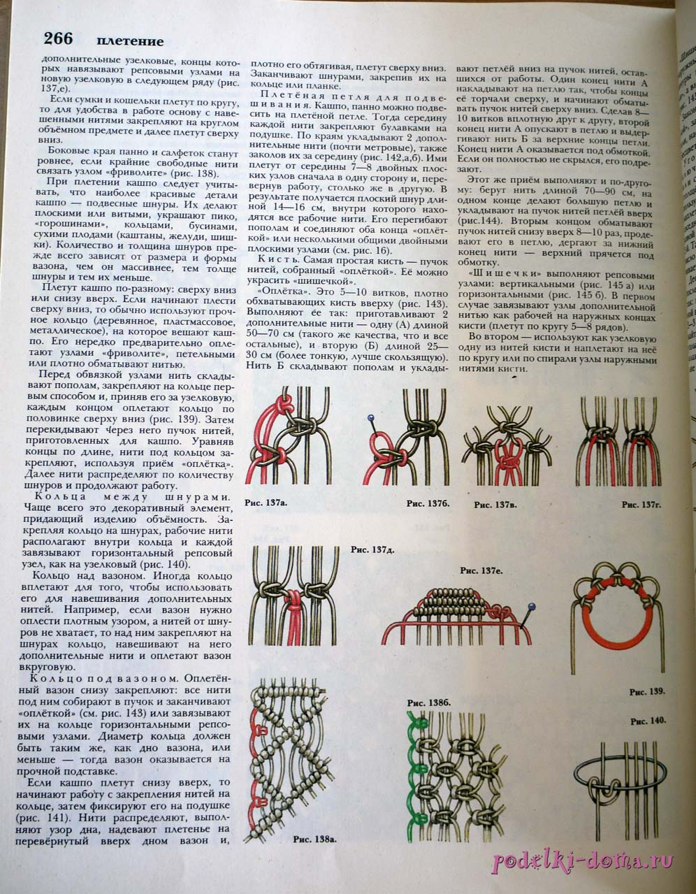 макраме узлы