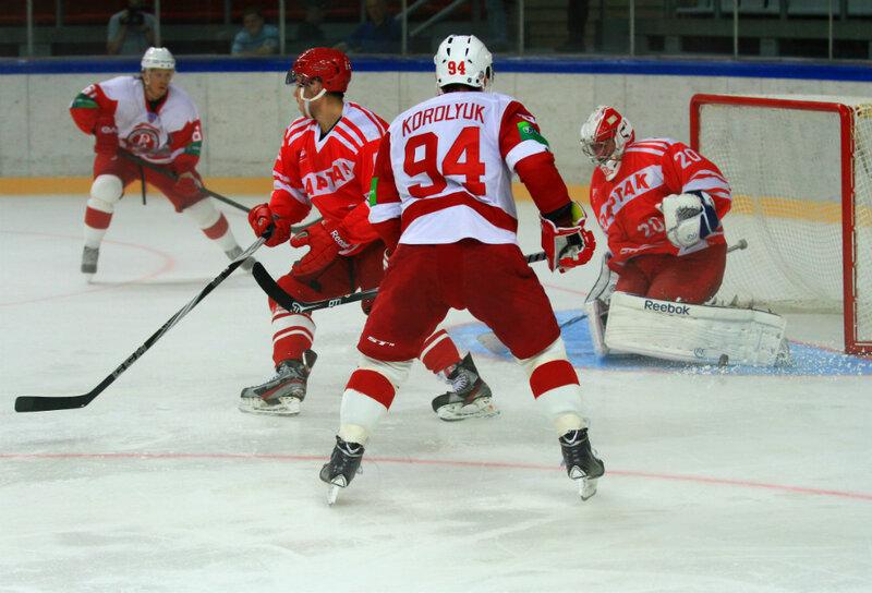 «Спартак» vs «Витязь» 2:1 контрольный матч 2013 (Фото)