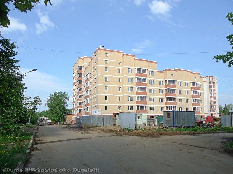 Фрязино. Улица Нахимова.