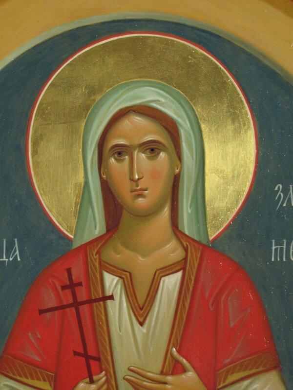 Святая Великомученица Злата. Иконописец Наталия Пискунова.