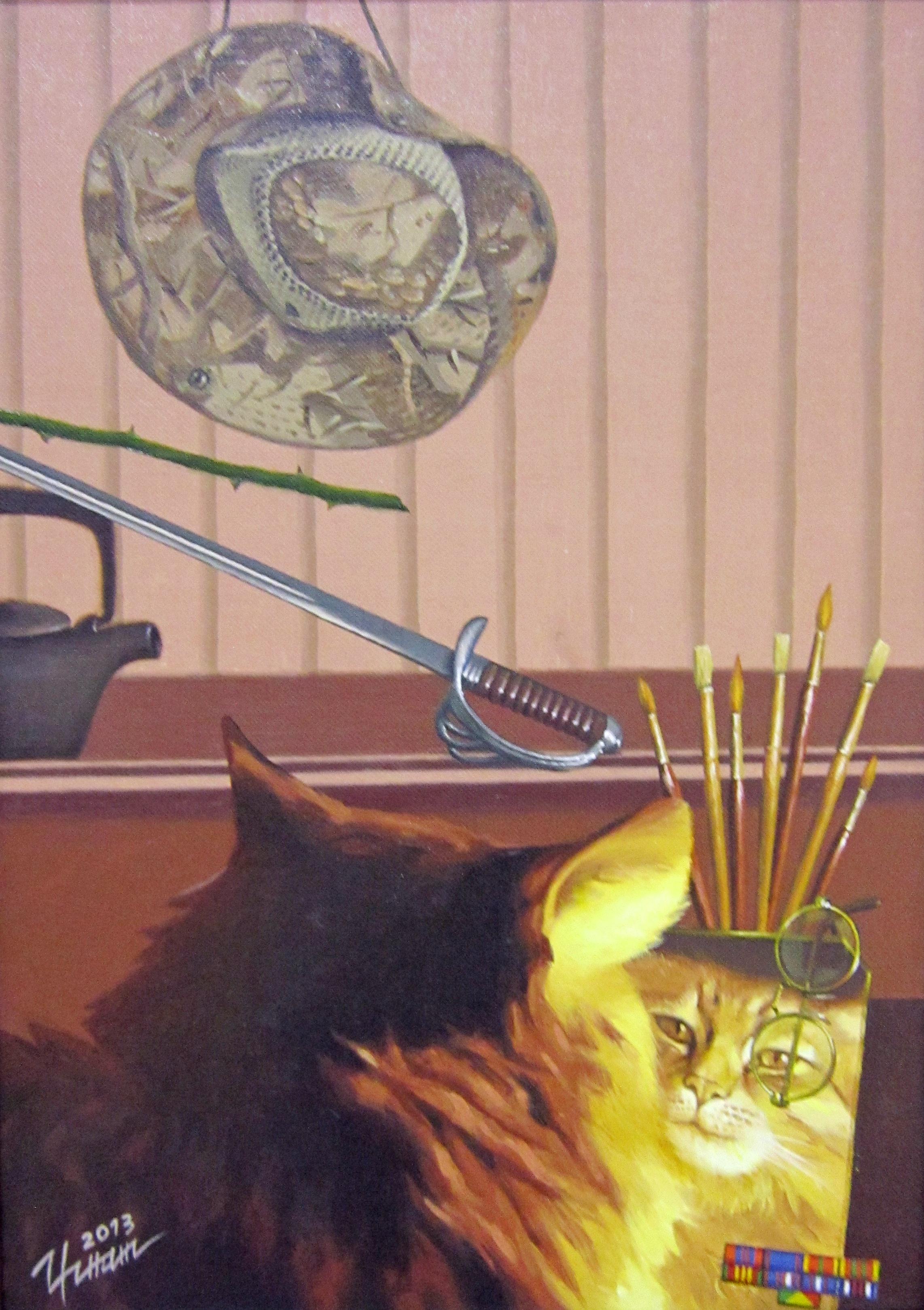 Олег Валентинович Игнатов (род. в 1964 году). Кошки не похожи на людей. 2013 год.
