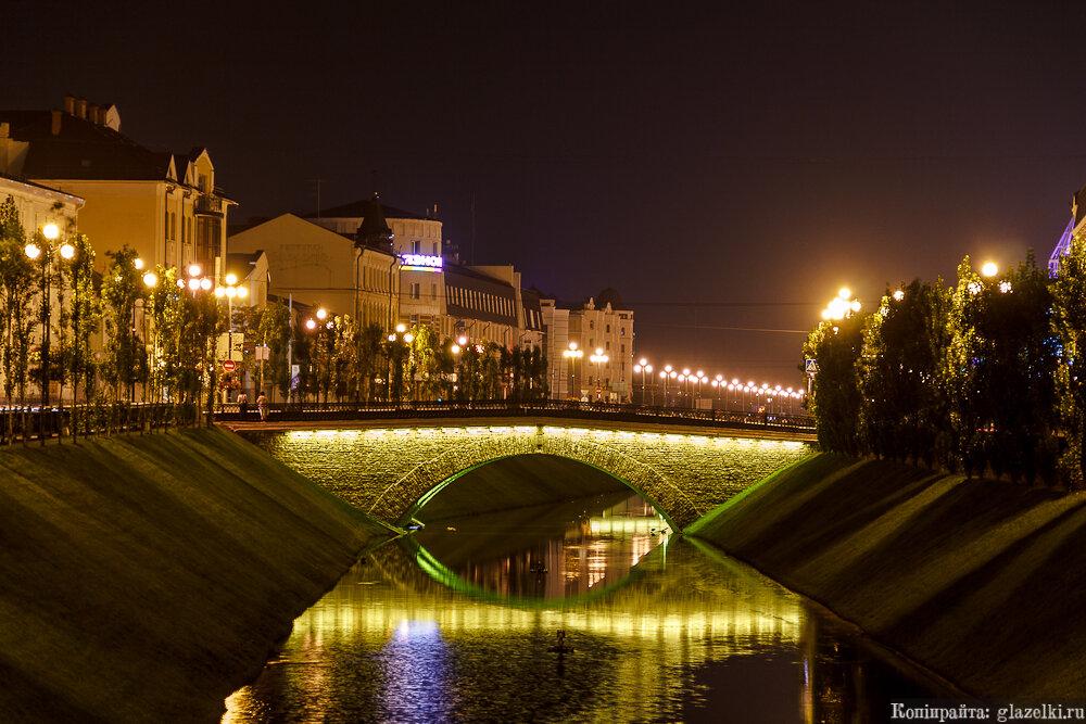 Лебедевский мост через Булак.