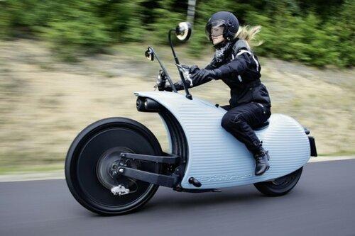 Новый электромотоцикл способен расширить зону  ваших путешествий