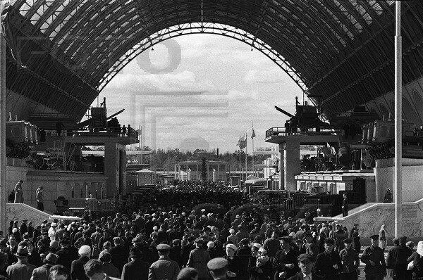 павильон Механизация и электрификация сельского хозяйства СССР, 1939 г.