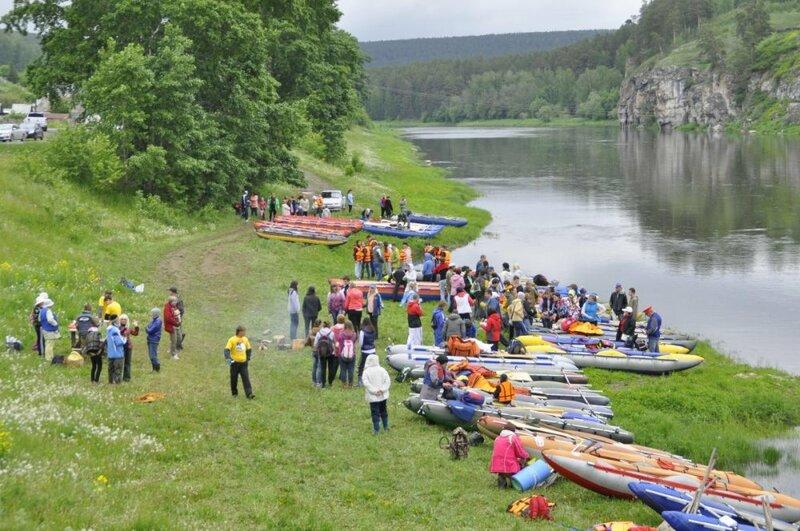Фестиваль водного туризма (19.06.2013)